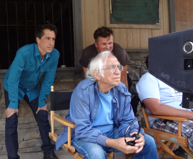 Terry Zarchi (Producer), Meir Zarchi (Director) and Pedja Radenkovich (DP)